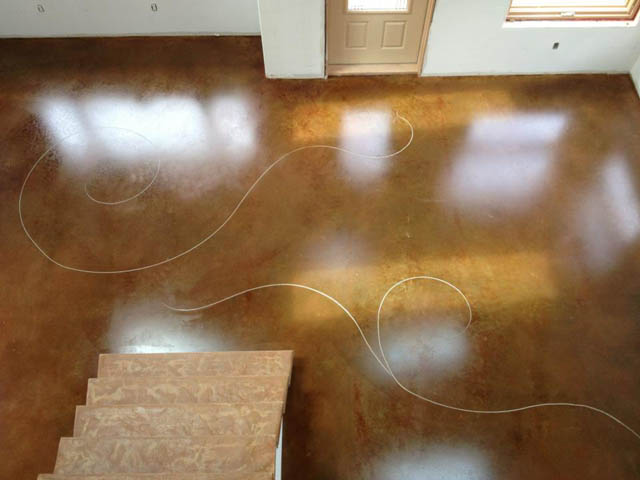 13 Pinnacle Concrete Solutions Cinnamon Acid Stain