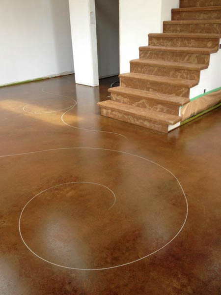 15 Pinnacle Concrete Solutions Cinnamon Acid Stain