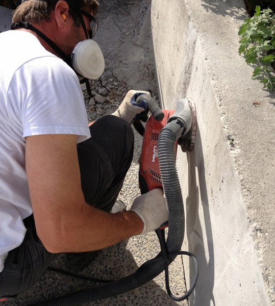 22 pinnacle concrete grinding dustless hilti