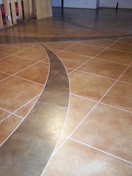 34 Pinnacle Concrete Solutions Custom Acid Stain