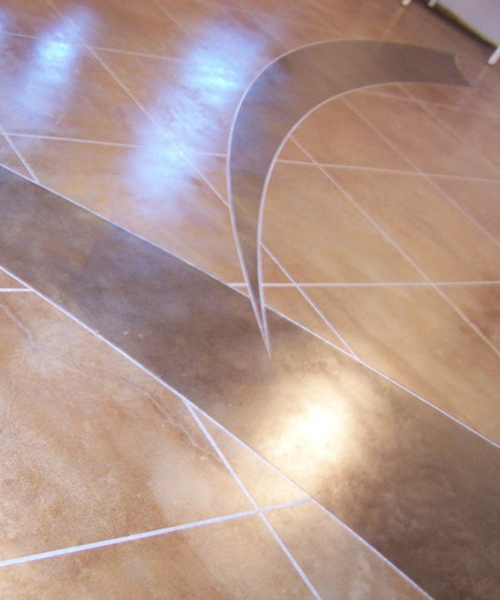 35 Pinnacle Concrete Solutions Custom Acid Stain