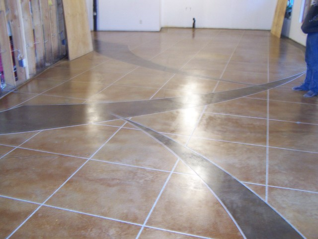 36 Pinnacle Concrete Solutions Custom Acid Stain
