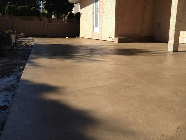 39 pinnacle concrete buff tan overlay