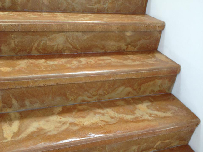 pinnacle concrete cinnamon stairs 3
