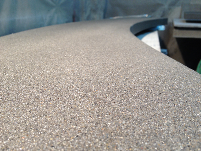 pinnacle concrete polished etched wall caps 5