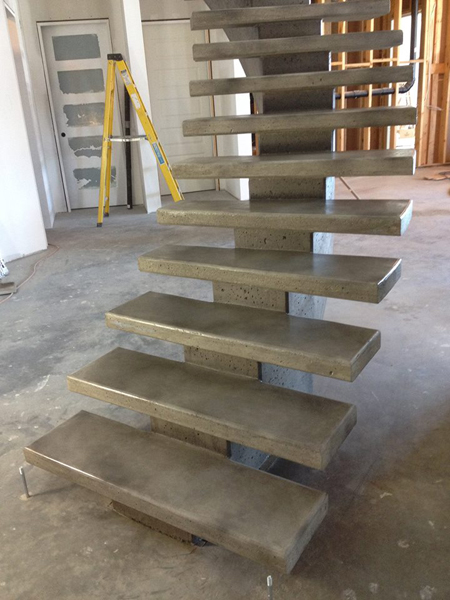 pinnacle concrete solutions stairs 1