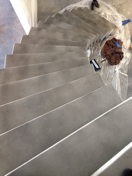 pinnacle concrete solutions stairs 2