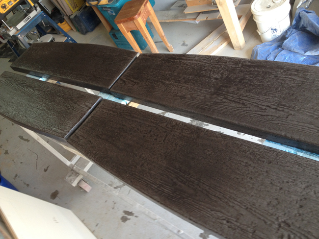 pinnacle concrete wood plank treads 1